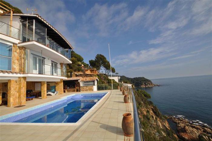 belle villa maison avec piscine louer en espagne