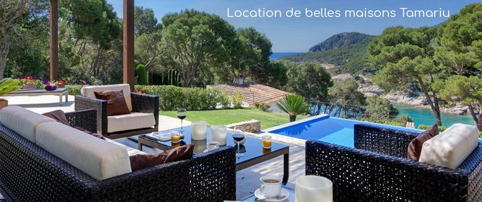 Choisir un type de logement tamariu for Maison de prestige a louer