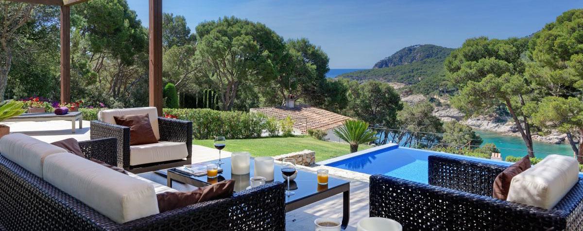 belles maisons louer pour les vacances tamariu